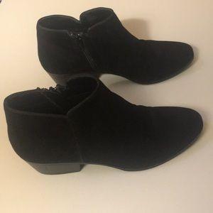St. John's Bay Black Ankle Booties